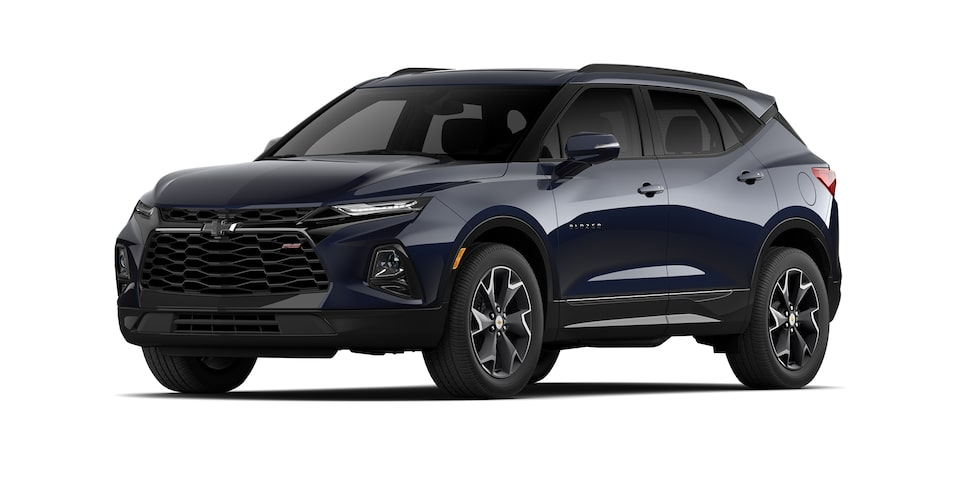Chevrolet Blazer 2021 color azul lunar